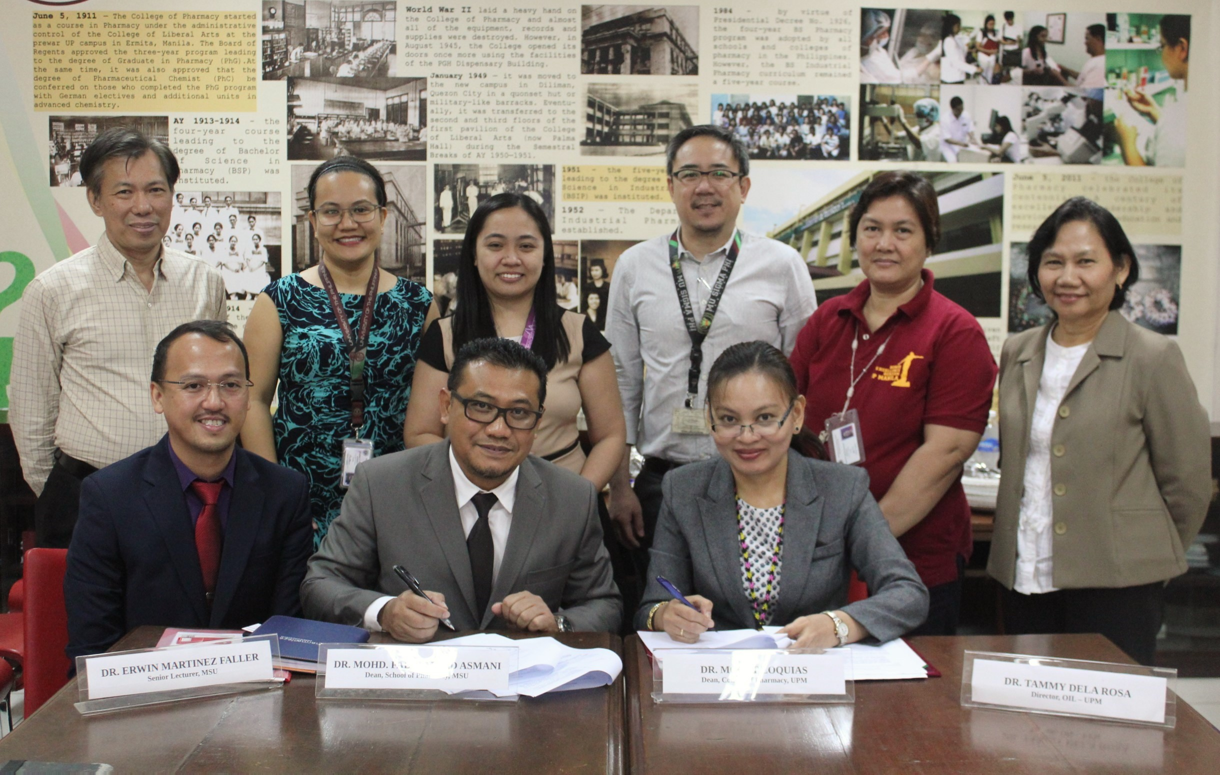 Memorandum Of Understanding Between University Of The Philippines Manila And Management & Science University