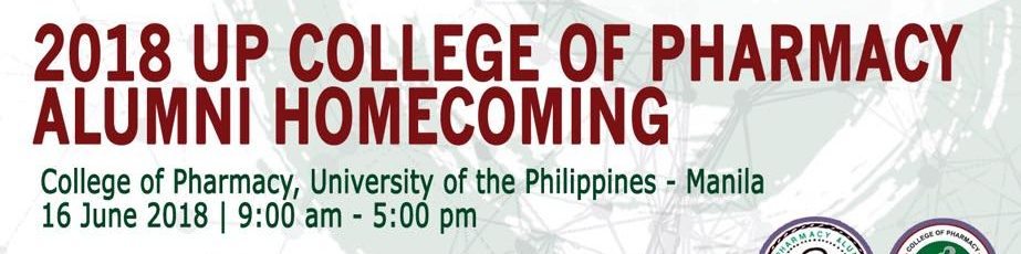 2018 UP College Of Pharmacy Alumni Homecoming