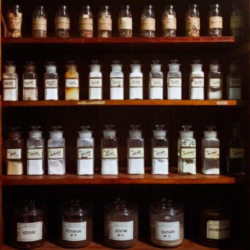 Antique Reagent Bottles